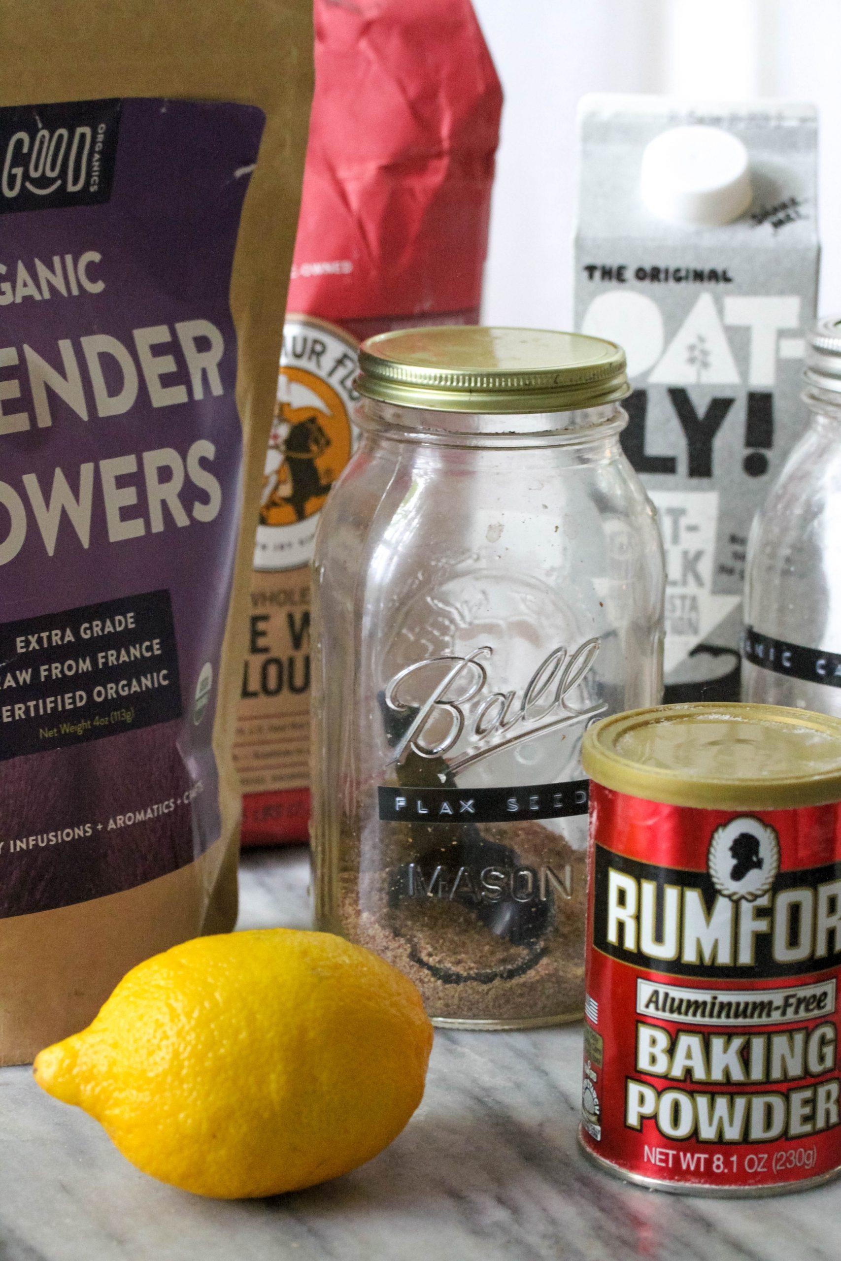 lemon lavender loaf ingredients